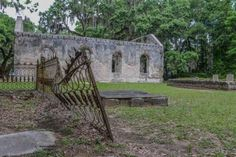 The Story Behind These Haunted Church Ruins In South Carolina Will Send You Running For The Woods