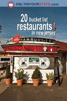 Travel | New Jersey | Bucket List | Dining | Best Restaurants | Delicious | Food | Places To Eat | Weekend