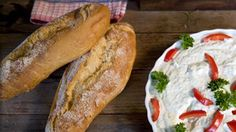 Wood-fired oven bread recipe