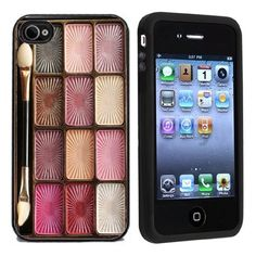 Makeup Case Apple iPhone 4 or 4s Case / Cover Verizon or AT