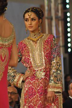 Arsalan Iqbal Collection at Pantene Bridal Couture Week 2013 Day 1