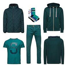 GO GO GO GREEN! #jackandjones #green #fashion #men