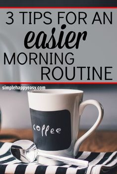 Ugh! My morning is a disaster almost every day! So glad I found these tips…