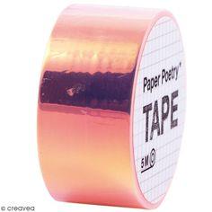 Compra nuestros productos a precios mini Washi tape Espejo - Arcoiris Naranja - Entrega rápida, gratuita a partir de 89 € !