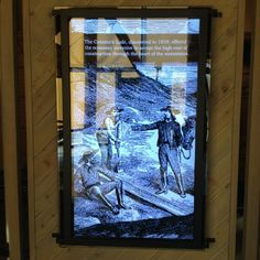 Video touch screen at entry Nevada State, Carson City, Museum, Touch, Instagram, Museums