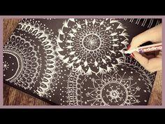 MANDALA ▪ Speed Drawing by DebbyArts - YouTube