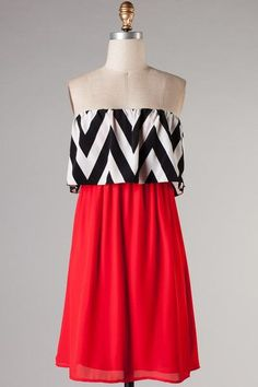 $39 Perfect Texas Tech game day dress!!