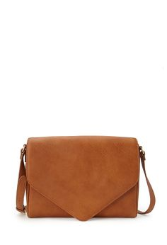 Everyday Envelope Crossbody | FOREVER21 You can never have too many handbags #FauxLeather #Crossbody #Accessories