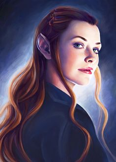 Tauriel (portrayed by Evangeline Lilly) - The Hobbit: Desolation of Smaug