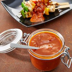 Barbecue Sauce - Ein Rezept für Prep Barbecue Sauce, Bbq, Prep & Cook, Prepping, Soup, Cooking, Spreads, Thermomix, Food And Drinks