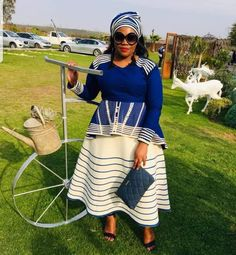 Sotho Traditional Dresses, South African Traditional Dresses, Traditional Fashion, Traditional Outfits, Traditional Wedding, Best African Dresses, Latest African Fashion Dresses, African Print Dresses, African Clothes
