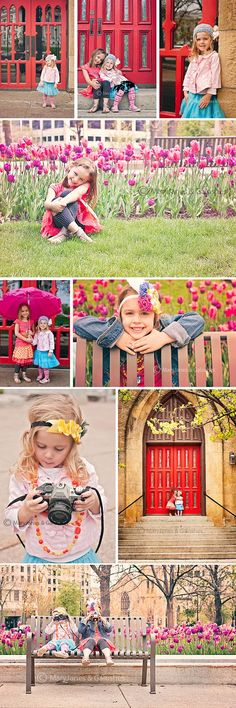 MaryJanes & Galoshes Photography #Spring #girls #sisters #door