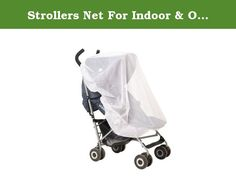 Strollers Net For Indoor & Outdoor Use, Insect Safety Netting, Mosquito, Bee, Bug Net, Fits Most Strollers and Bassinets, Breathable and Comfortable for baby, Elastic For Secure Fit, Color White. Blimber New and innovative Mosquito and Bug protection stroller accessory is the perfect mosquito net for all baby strollers and carry cots. It offers a perfect mix of 100% effectiveness in preventing insects from harming your baby and a collection of other benefits, which makes it a viable…