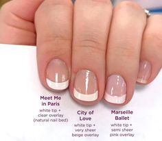 Color Street has so many amazing French styles for you to choose from! These go on quick and easy. DIY French nails in minutes! Meet me in Paris, City of Love, and the brand new spring collection Marsielle Ballet! French Nails, Classic French Manicure, French Manicures, French Manicure With Design, Manicure At Home, Nail Manicure, Diy Nails, Jamberry Nails, Glitter Nails