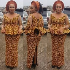 Check out This Lovely Ankara Skirt and Blouse Styles ..Check out This Lovely Ankara Skirt and Blouse Styles