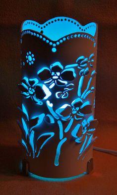 Lámpara orquideas