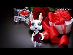 Zoobe Зайка С днем рожденья поздравляю! - YouTube