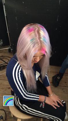 Lottie on Bleach London snapchat