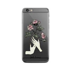 iPhone Case Rose ($29) ❤ liked on Polyvore featuring accessories, tech accessories, iphone sleeve case and iphone cover case
