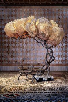 'Under a Light Tree' by Nacho Carbonell @ DYSFUNCTIONAL exhibtion - Image by Carpenters Workshop Gallery.