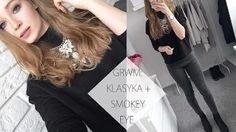 GRWM: KLASYKA + SMOKEY EYE - YouTube