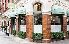 The Ivy Café in Marylebone | @styleminimalism