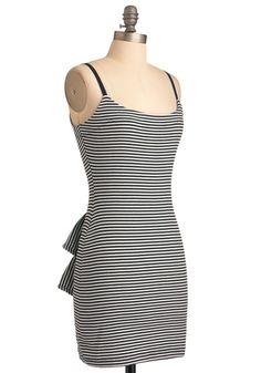 Betsey Johnson Stripe Up the Music Dress   Mod Retro Vintage Dresses   ModCloth.com