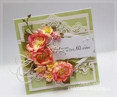 kartka urodzinowa / birthday card Frame, Cards, Home Decor, Picture Frame, Decoration Home, Room Decor, Maps, Frames, Home Interior Design