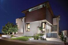 garage under house | Love the garage under the house. | Architecture