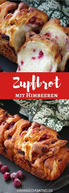 Rezept für ein köstliches Hefe Osterbrot mit Himbeeren. Viele von euch lieben den Duft von frischem Kuchen und für mich darf es dieses Jahr wieder einen vegangen Hefekuchen zu Ostern geben!