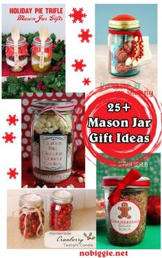 25+ Mason Jar Gift Ideas