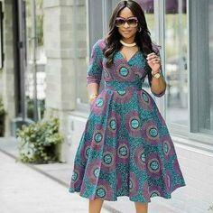 Ankara Maxi Dress, African Maxi Dresses, Ankara Dress Styles, Dashiki Dress, Ankara Gowns, African Dresses For Women, African Attire, African Women, Shweshwe Dresses