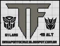 Transformers pattern by Dinha Ponto Cruz