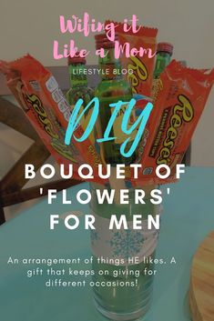 DIY bouquet of