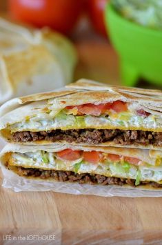 Taco Bell Crunchwrap Supreme (Copycat) Tried---Loved It! Takes the mess out of tacos