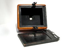 Back - Large Format Pinhole Camera (could possible use polaroid film)