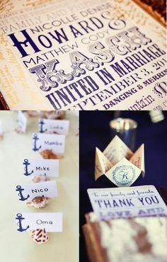 My Cute Bride: navy wedding