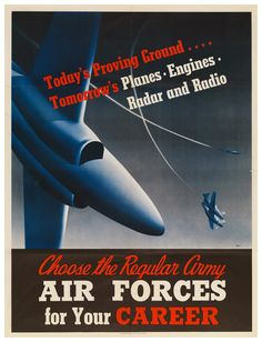 WWII Air Force Poster