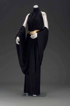 "saber-girl: "" fashionsfromhistory: "" Evening Dress Valentina 1930s Museum of Fine Arts, Boston "" Put it on Kylo Ren """