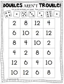 math worksheet : 1000 images about teaching  math doubles on pinterest  doubles  : Doubles Math Worksheet