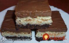 Érdekel a receptje? Sweet Desserts, Tiramisu, Biscuits, Naan, Food And Drink, Sweets, Cookies, Chocolate, Baking