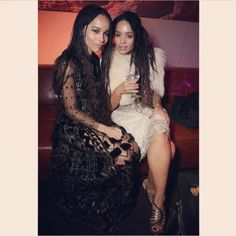 Zoë Kravitz & Lisa Bonet, 05/2015