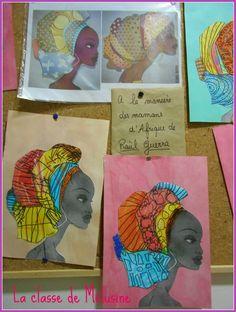 portraits mamans aux turbans Raùl