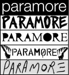 logos de paramore