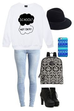 """School is coming"" by sorryallgoodusernamesaretacken ❤ liked on Polyvore featuring Madden Girl, Object Collectors Item, Uncommon and rag & bone"