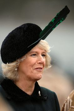 "Camilla, Duchess of Cornwall, 2007 ""...stuck a feather in her cap and called it macaroni."" It would have been a nice hat otherwise, or even if the feather followed the shape and form of the cap."