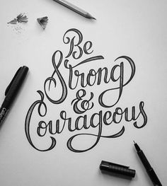 calligraphy quotes Inspiring and strong typography quotes can be an efficient solution for your workspace decoration. You can keep yourself motivated with style. Hand Lettering Alphabet, Hand Lettering Quotes, Creative Lettering, Typography Quotes, Lettering Design, Brush Lettering, Tattoo Typography, Decorative Lettering, Hand Typography