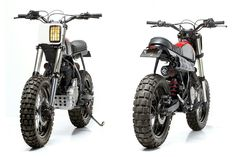 It's not just the government that's getting edgy in Portugal: Dream Wheels' custom scrambler
