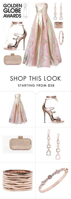 """Divine"" by goingdigi ❤ liked on Polyvore featuring Notte by Marchesa, Halston Heritage, Ippolita, Repossi, Givenchy and Jennifer Meyer Jewelry"