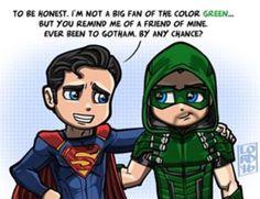 Superman & Green Arrow